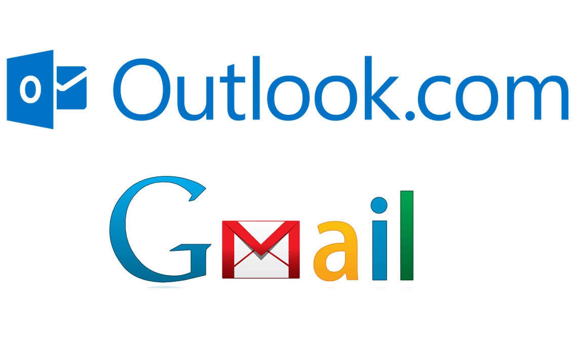 Receber emails do Gmail no Outlook