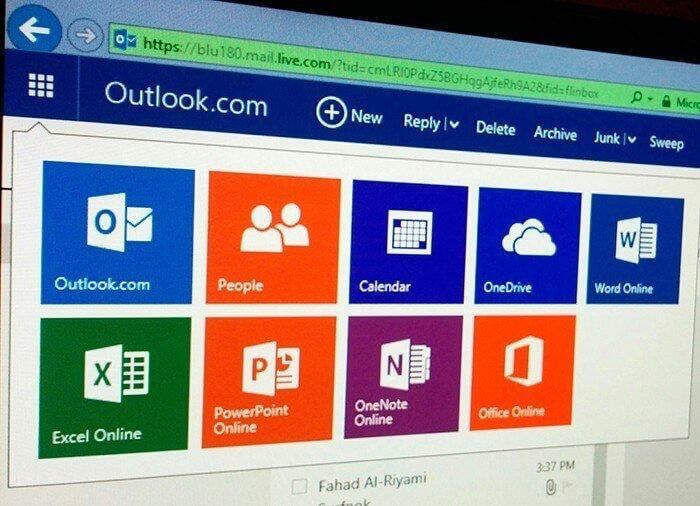 Remetentes confiáveis no Outlook