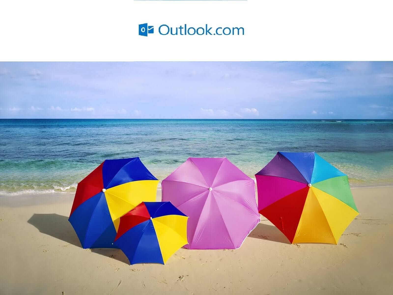 respostas automáticas de ausência no Outlook.com