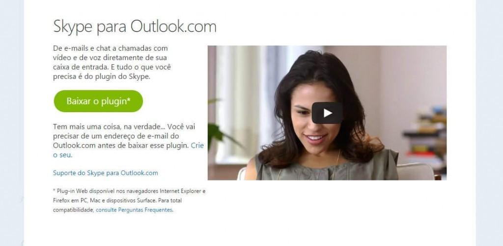 Pesquisar contatos no Skype para Outlook