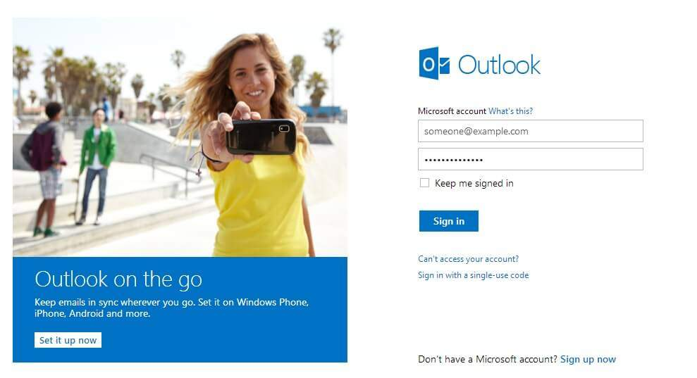 Recuperar a palavra-passe do Outlook