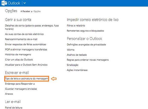 criar assinaturas de email no Outlook_2