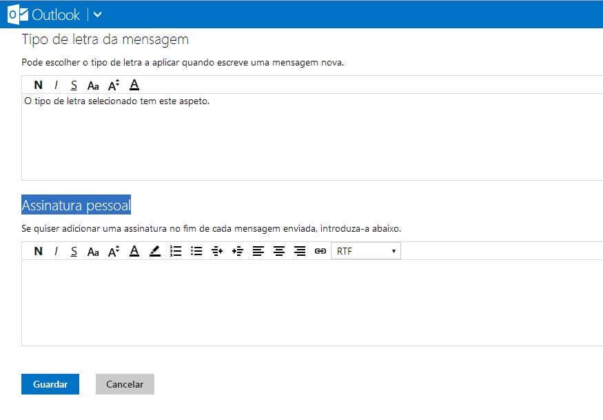criar assinaturas de email no Outlook_3