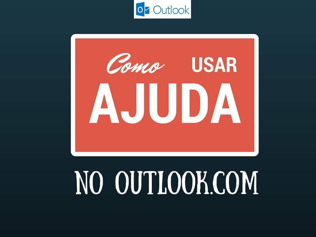 Como usar a ajuda no Outlook.com