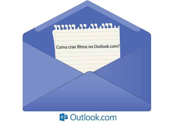criar filtros no Outlook
