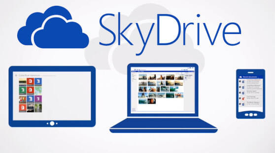 utilizar o SkyDrive no Outlook