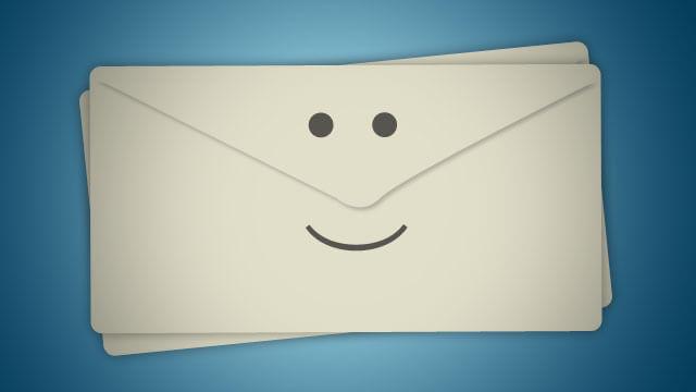 usar emoticon no assunto do e-mail